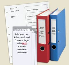 Free Avery Templates  Binder Spine Label Assorted Sizes