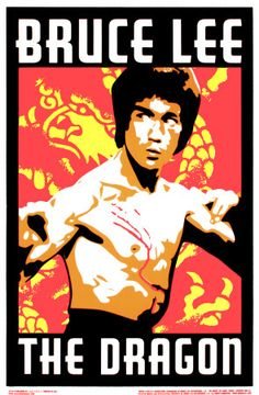 Bruce Lee: the man, the legend. A martial arts master and avid philosopher.