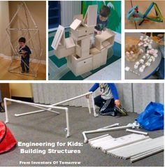 In the first week of our Engineering Unit, we studied Towers – stacking one block on top of another block to build something tall. This week, we looked more at more complex structures. We pla… Montessori Homeschool, Classroom Layout, Sports Day, Building For Kids, Forest School, Build Something, Building Structure, Index Cards, Child Models