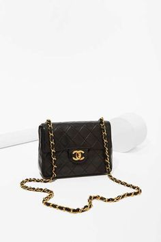Vintage Chanel Quilted Foldover Mini Bag - Vintage Goldmine No. 1 - Chanel  Vintage Chanel f5398bb4cd