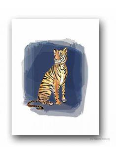 Meg The Tiger Print -  #landgwishlist