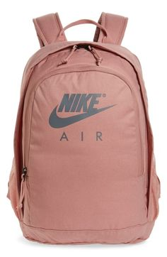 Men's Nike Hayward Air Backpack - Pink what to buy on if yoou search for the best quality and motivation bags, keep going on your goals if you want to see transformation in your life, my best store making by my self content generaly fashion Nike School Backpacks, Cute Backpacks For School, Trendy Backpacks, Girl Backpacks, Backpacks From Pink, Sports Backpacks, Leather Backpacks, Leather Bags, Adidas Bags