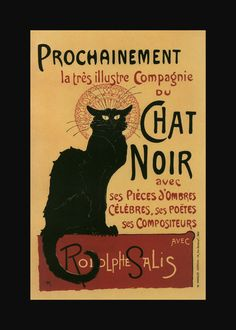 posters | Chat Noir - vintage french posters wallpaper image
