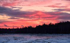 Wintry Sunrise | by Susan Garver Photography Bar Harbor, Maine
