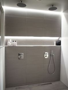 Consider buying a bathroom vanity with a leading currently. Not exactly sure . Attic Bathroom, Bathroom Spa, Modern Bathroom, Small Bathroom, Master Bathroom, Sauna Design, Attic Renovation, Attic Remodel, Wet Rooms