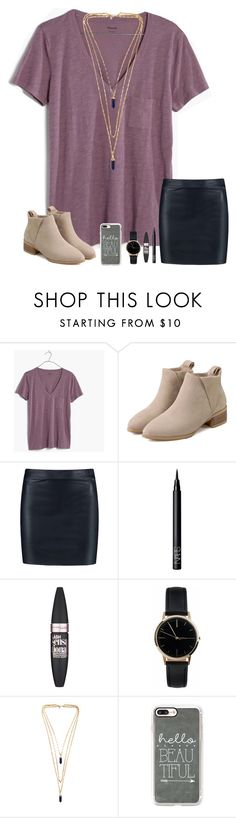"""""""Munching on saltines...yum"""" by mary-grace-see ❤ liked on Polyvore featuring Madewell, Boohoo, NARS Cosmetics, Maybelline, Freedom To Exist, Isabel Marant and Casetify"""