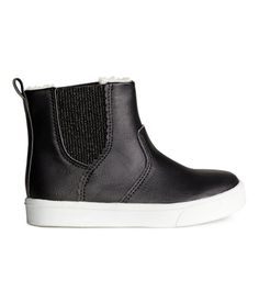 Thermal Chelsea Boots   Black   Kids   H&M US
