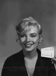 MARILYN MONROE HAIR and MAKEUP TEST (1) RARE 8x10 PHOTO   Collectibles, Photographic Images, Contemporary (1940-Now)   eBay!