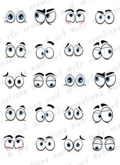 nail decals *silly cartoon eyes* water slide nail decals comical eyes 20 Nail Decals Silly Cartoon Eyes Water Slide Nail Decals Comical EyesComical Comical may refer to: Clay Pot Crafts, Rock Crafts, Tole Painting, Painting & Drawing, Cartoon Drawings, Art Drawings, Learn To Draw, Pebble Art, Stone Art