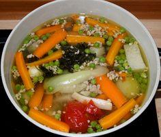 Darálthúsos leves recept