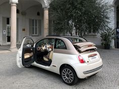 Ready to climb aboard this Fiat 500C Sassicaia Limited Edition?