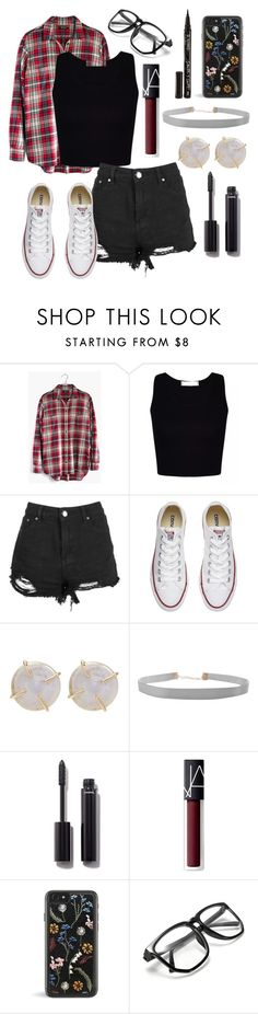"""""""5sos concert!!! #5sos"""" by rwaldrep ❤ liked on Polyvore featuring Madewell, Boohoo, Converse, Melissa Joy Manning, Humble Chic, Chanel, NARS Cosmetics, Smith & Cult and calumhoodisamazing"""
