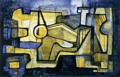 """""""Mistélia 20/60"""", Roberto Burle Marx, 1986, São Paulo/SP, litografia sobre papel, 60,8 x 79,8 cm"""
