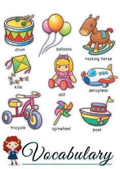 How to teach English vocabulary to the little ones - The How of Things . English Grammar For Kids, Learning English For Kids, English Lessons For Kids, Kids English, English Vocabulary Words, Learn English Words, English Language Learning, English Writing, Teaching English
