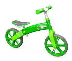 0e09fffdcb23 Tricikli, bicikli/ybike yvelo futóbicikli - zöld - Babakocsi Futár Bike  With Training Wheels