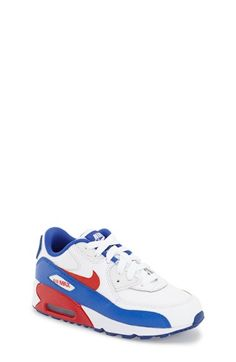 Nike 'Air Max 90 Leather' Sneaker (Toddler & Little Kid)