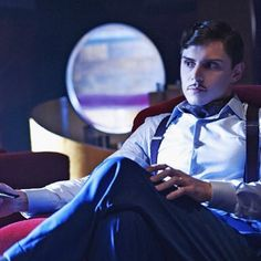 #EvanPeters as Mr.March in #AHSHotel ! What do you guys think about it?