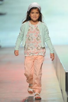 kid runway shows | model walks the runway during the Charles Voegel Kids Fashion Show ...