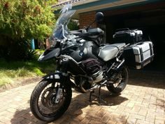 My BMW 1200GS Adventure fully stocked and ready for a tour!