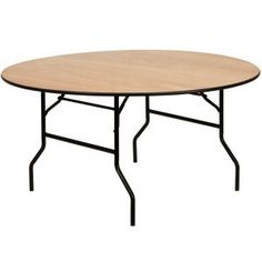 7 Foot Round Table Hire