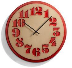 House & Heath Ceramics Clocks via www.thedesignsheppard.com