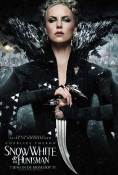 Charlize Theron as the Evil Queen in 'Snow White and the Huntsman' -- International movie poster from Universal Pictures