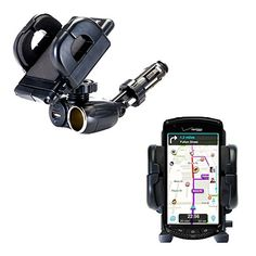 Dual USB  12V Charger Car Cigarette Lighter Mount and Holder for the Kyocera Brigadier E6782 >>> Click image to review more details.Note:It is affiliate link to Amazon.