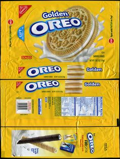 Nabisco packages | Nabisco - Oreo Golden cookie package - 2009 | Flickr - Photo Sharing!
