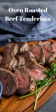 Knowing how to make a beef tenderloin means you are always ready to impress! Roa… Knowing how to make a beef tenderloin means you are always ready to impress! Roasting beef tenderloin delivers a tender roast that is worthy of any special occasion! Beef Tenderloin Oven, Oven Roast Beef, Best Beef Tenderloin Recipe, Roasted Beef Tenderloin Recipes, How To Cook Tenderloin, Perfect Beef Tenderloin, Beef Loin, Roast Brisket, Roast Recipes