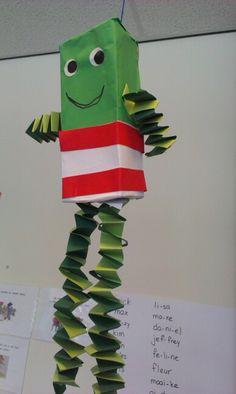 Kikker van een theedoosje Frog Activities, Spring Time, Childrens Books, Diy Crafts, Creative, Projects, Kids, Google, Winter Time