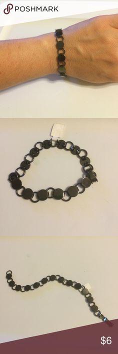 NWOT handmade bracelet Very cute handmade bracelet. Circle metal design. The circles are magnetic. Jewelry Bracelets