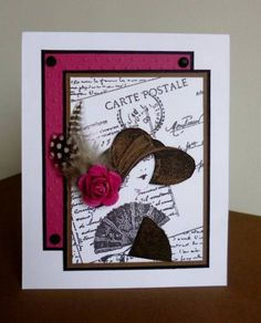 A hat for the races! by sistersandie - Cards and Paper Crafts at Splitcoaststampers