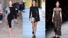 S/S 2016 women's trends: franges argent