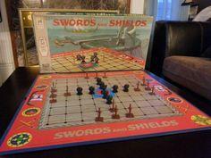 Swords and Shields by Milton Bradley