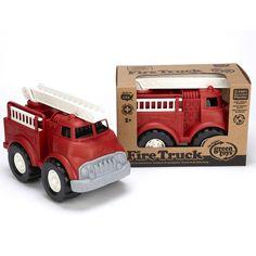 Brandweerauto gerecycled materiaal Green Toys Gerecycled speelgoed