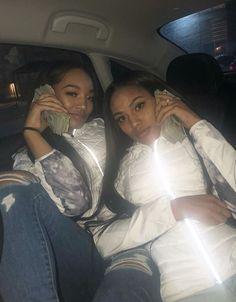 Get money together, succeed together Go Best Friend, Best Friend Outfits, Best Friend Goals, Best Friends, Best Friend Pictures, Bff Pictures, Emoji Pictures, Fille Gangsta, Sisters Goals