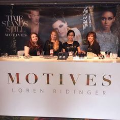 Make sure to stop by the #motivescosmetics booth on your way to your seats! #MAIC2015