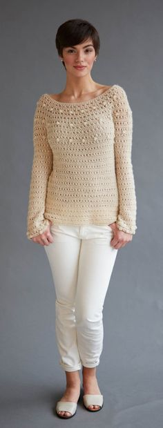 Crochet Sweaters from the Top-Down with Dora Ohrenstein