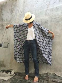 Playa de kimono Rebeca encubrir Bohemia fasetival por stylepark1