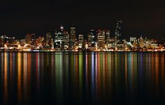 https://flic.kr/p/absoBJ | Alki Beach View of Downtown Seattle Close-up | Long exposure close-up of the downtown Seattle skyline from Alki Beach.  CameraNikon D3000 Exposure 30 Aperture f/11.0 Focal Length 55 mm ISO Speed 200  Follow me: 500px | Google+ | Tumblr | Twitter