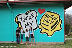 WE FOUND THIS ONE!!!!    Austin Murals and where to find them - check out the whole blog, she's got a loooong list of things to do in/around Austin.