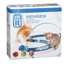 Catit Design Senses Play Circuit - Catit Design Senses Play Circuit Entertains while engaging cat's sense touch, sound and sight. Peek-A-Boo track design allows cats to see and swat the ball. Play Cat, Gatos Cat, Interactive Cat Toys, Pet Mice, Circuit Design, Cat Accessories, Cat Supplies, Cool Cats, Pet Toys