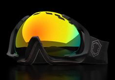 welcome the the new EdgeBlackFire    www.out-of.it    #goggle #ski #edge #outof