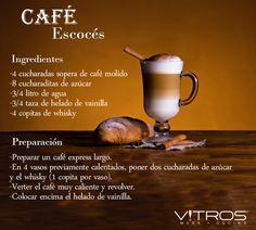 Hmmm! ¿Qué te parece si sustituyes tu café tradicional por esta rica receta del café escocés? #Vitrosrecetas