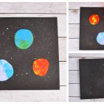 Balloon Stamping Solar System Craft For Kids