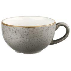 The Churchill Stonecast Peppercorn Grey Cappuccino Cup Churchill, Grey Coffee Cups, Cappuccino Cups, Ceramic Cups, Tea Cups, Ceramics, Mugs, Tableware, Beverages