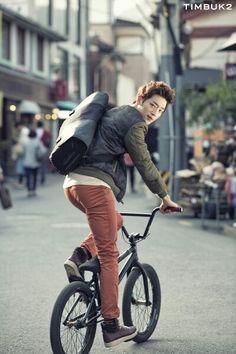 Seo kang joon for TIMBUK2