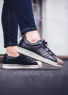 promo code 8aa0a e5bcd Women s Adidas Superstar 80s with 3D Textured Copper Shell Toe