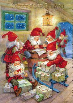 Christmas postcard (Estonia)
