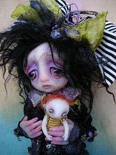 Love this doll artist.  Gail Lackey.